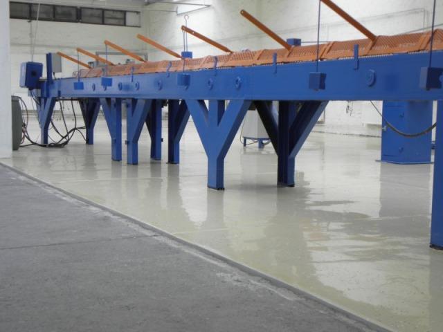 Fux labor műgyanta padlóburkolás