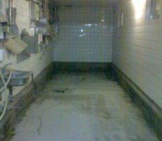 Vegyszertároló műgyanta padló burkolat
