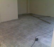 Baumax padlócsiszolás, műgyanta impregnálás