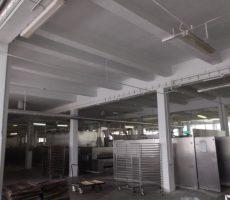 Miskolci Kenyérgyár - Üzemcsarnok felújítási munkái