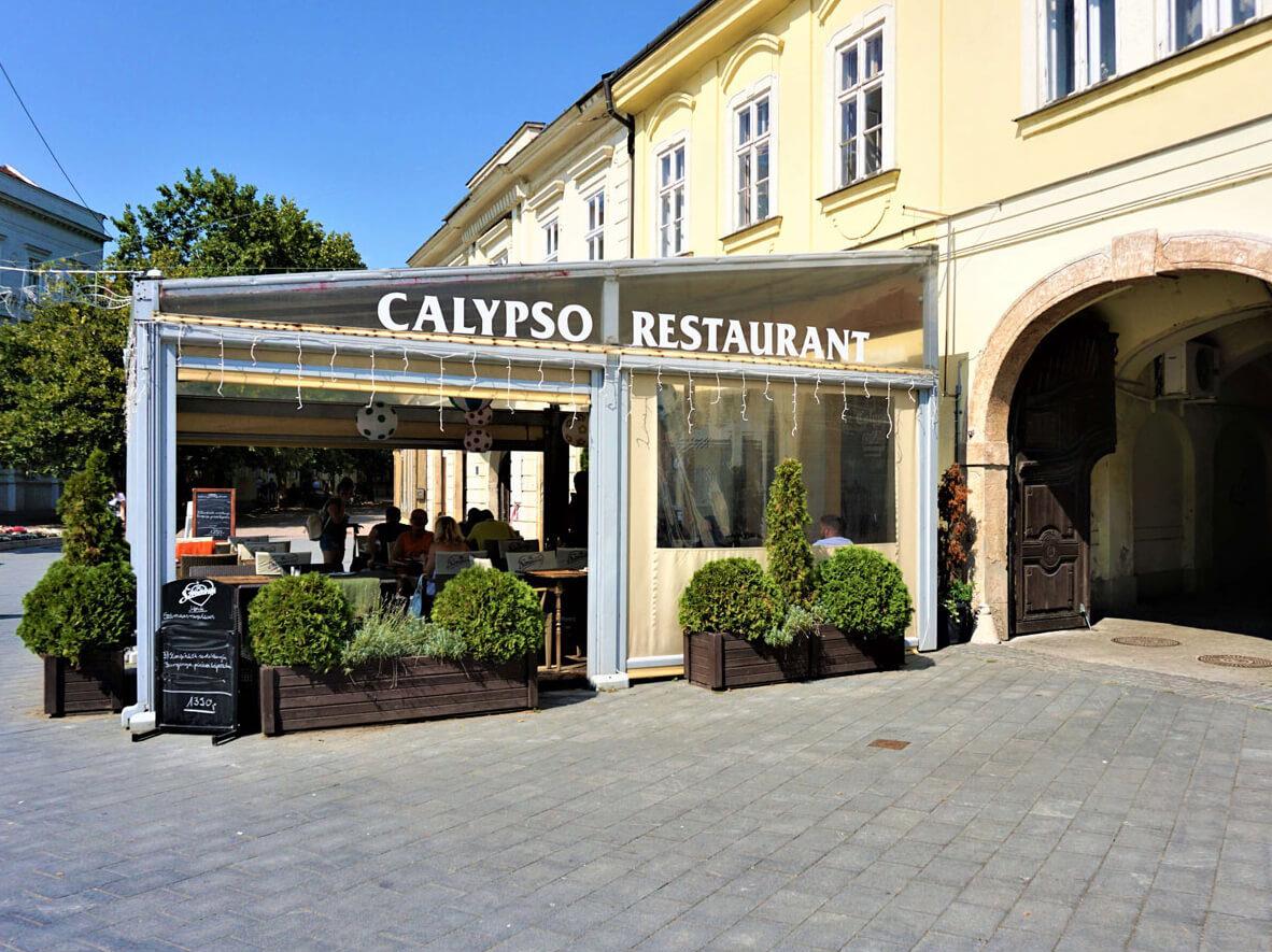 Calypso étterem generál kivitelezés